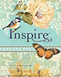 img - for Inspire Bible NLT: The Bible for Creative Journaling (Inspire: Full Size) book / textbook / text book