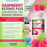 Raspberry Ketones Plus+ Advanced Fat Burning Formula - Top-Rated, Stimulant Free Weight Loss Supplement and Appetite Suppressant for Men and Women. Includes African Mango, Acai Berry, Grape Skin Extract and Other Select, All Natural Thermogenic Fat Burning Ingredients. Eat Less and Still Feel Satisfied. 1000mg/serving.