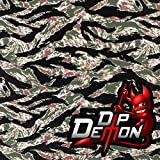 Vietnam Tiger Stripe Camouflage Camo Hydrographic Water Transfer Film Hydro Dipping (Tamaño: 2M X 50cm - 20
