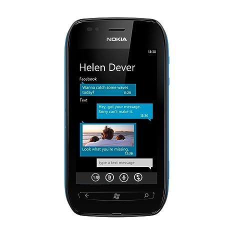 Nokia Lumia 710 0020J21 Smartphone Bi-mode/WCDMA/GSM/EDGE/HSDPA/HSUPA/ Noir/Noir