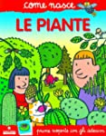 Le piante. Con adesivi