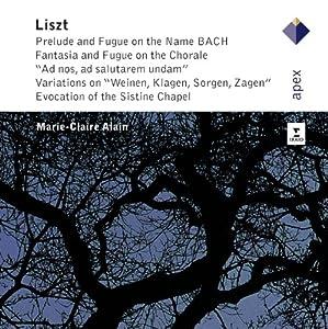 Liszt : Grandes oeuvres pour orgue