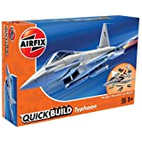 Airfix Quickbuild Eurofighter Typhoon Airplane Model Kit