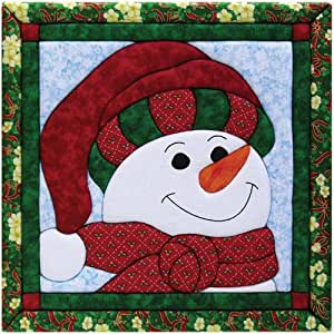 Amazon.com: Quilt Magic 12-Inch by 12-Inch Snowman Kit