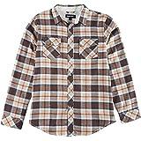 Burnside Mens Prestigious Plaid Flannel Shirt