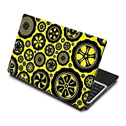 3M clickforsign 'Official'Multipal Wheels With Different Design Laptop Skin / Decals EG-0240