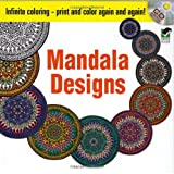 img - for Infinite Coloring Mandala Designs CD and Book (Dover Design Coloring Books) book / textbook / text book