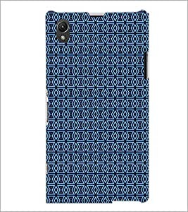PrintDhaba Pattern D-5184 Back Case Cover for SONY XPERIA Z1 (Multi-Coloured)