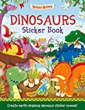 img - for Dinosaurs Sticker Book: Create earth-shaking dinosaur sticker scenes! (Sticker History) book / textbook / text book