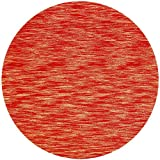 St Croix Trading Company Terracotta Fusion 8x8 Round Area Rug