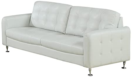 AC Pacific Megan Sofa, White