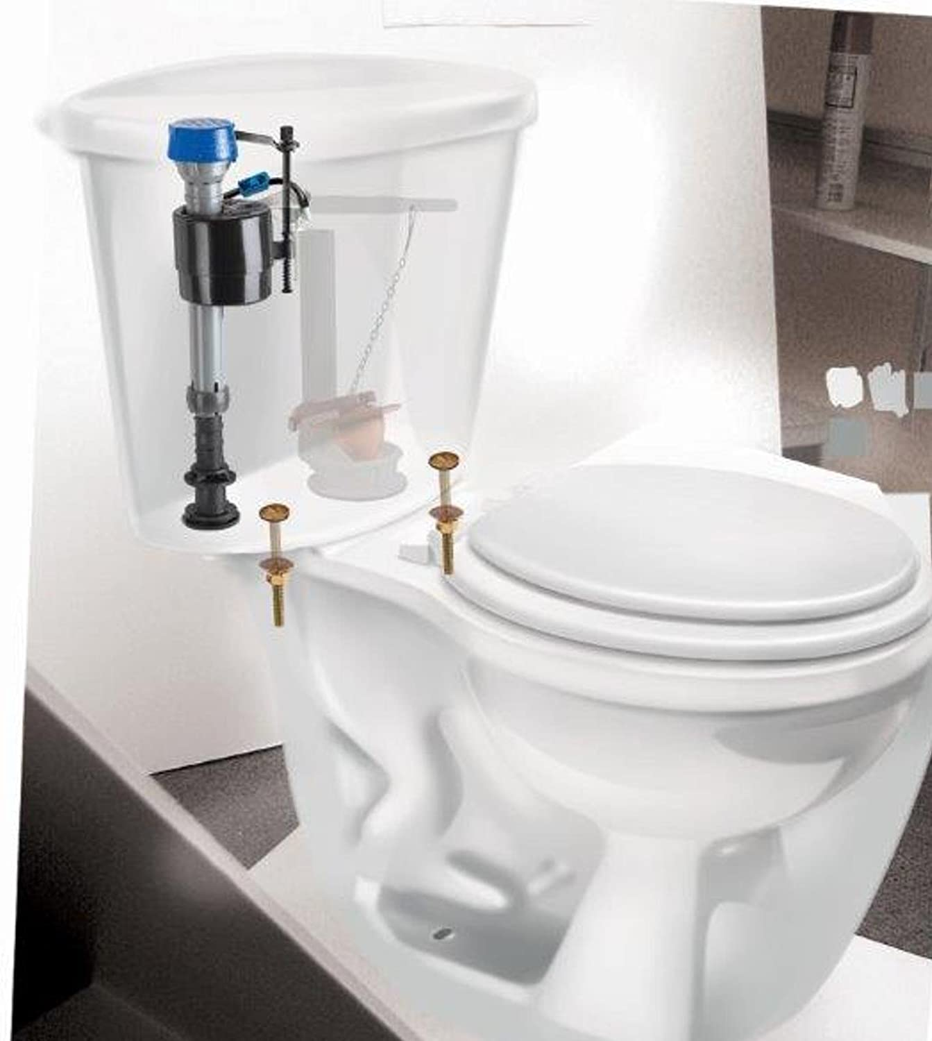 fluidmaster 400arhr high performance toilet fill valve. Black Bedroom Furniture Sets. Home Design Ideas