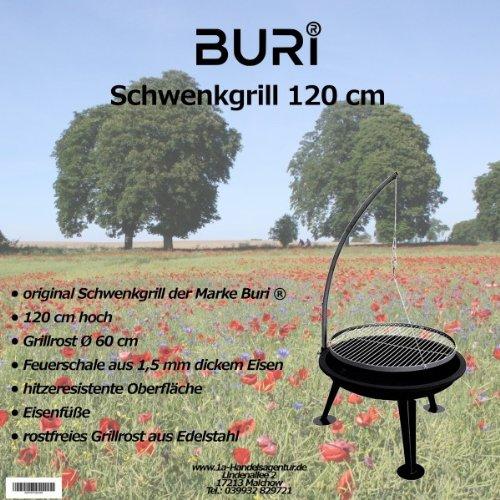 Schwenkgrill 120cm der Marke Buri ® online bestellen