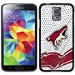 Coveroo Samsung Galaxy S5 Black Thinshield Case with Arizona Coyotes Away Jersey Design