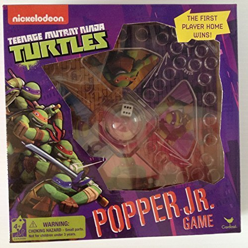Teenage Mutant Ninja Turtles Popper Jr Game Nick Jr Nickelodeon Trouble Kids Activities