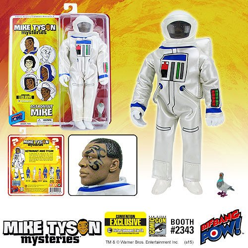 Mike Tyson Mysteries Tyson Astronaut 8-Inch Figure-Con Excl.