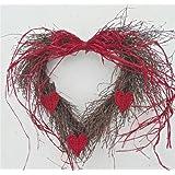 Wild Love Heart Wreath For Doors