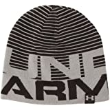 Under Armour Herren Beanie Overlap Reversible, schwarz (1), One size (OSFA)