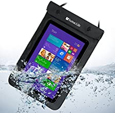 8 inch SumacLife Waterproof Tablet Sleeve Pouch Bag for Toshiba Encore WT8-A32M 8-Inch Toshiba Exci