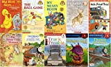 img - for Ten Step-1 Readers (Pre-School to Grade 1): Thomas Goes Fishing, Dragon Egg, Truck Trouble, Thomas and the School Trip, The Teeny Tiny Woman, Hello Freight Train!, Footprints in the Snow, My Messy Room, Big Bird Says, The Ball Game book / textbook / text book