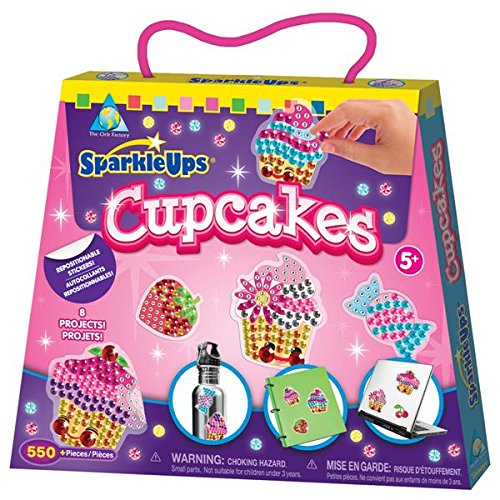 The Orb Factory SparkleUps Cupcakes