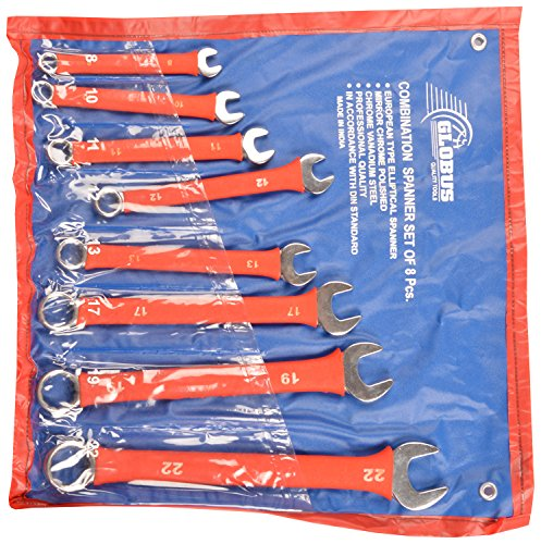 Combination Spanner Set (8 Pc)