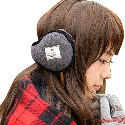 Nakota (ナコタ) EAR MUFF イヤーマフ イヤーウォーマー 耳あて 耳当て 折りたたみ コンパクト 防寒 小物 メンズ レディース 冬