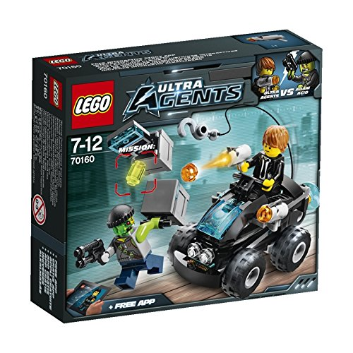 LEGO Ultra Agents 70160 Agenten Buggy