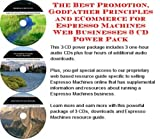 The Best Promotion, Godfather Principles and eCommerce for Espresso Machines Web Businesses 3 CD Power Pack