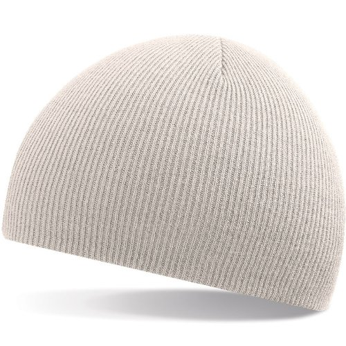 Beechfield Beanie Acrylic Knitted Hat (2870) one size,stone one size,Stone