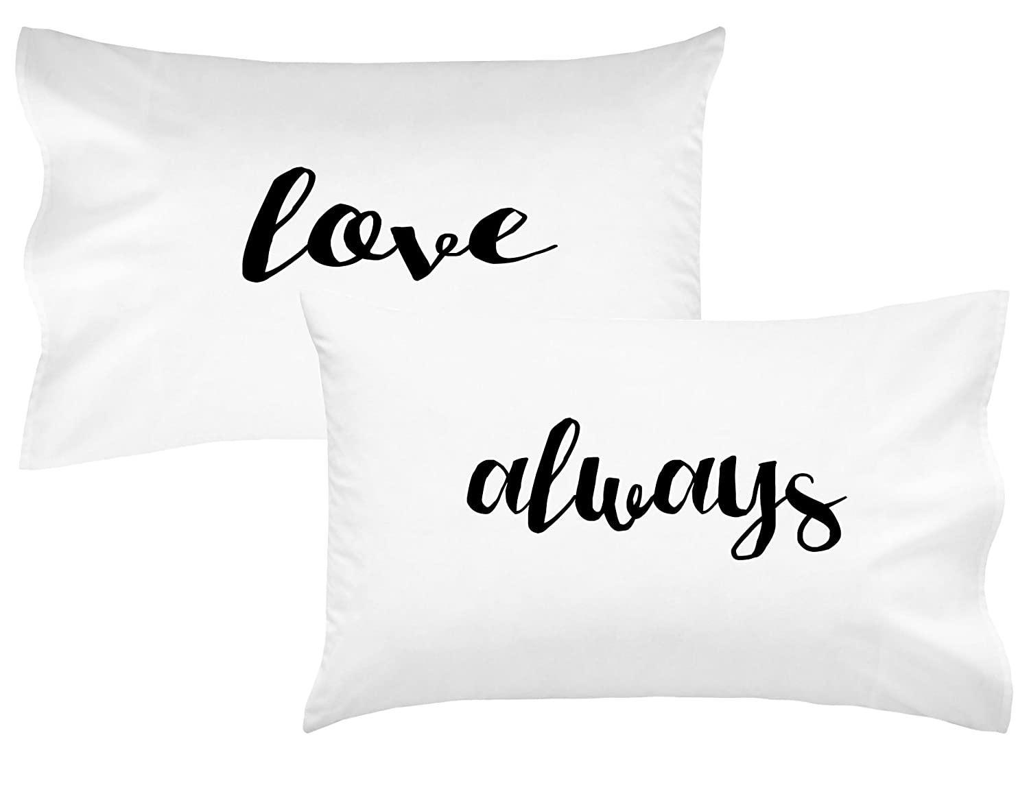 Oh, Susannah Love Always Couples Pillowcases Romantic Valentines Gift For Couples Wedding Gift Anniversary Gift For Her or Him His and Hers Gifts Mother's Day Gift