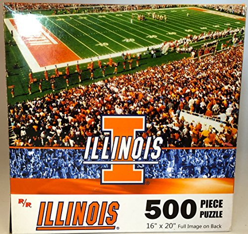 "NCAA University of Illinois Fighting Illini 16""x20"" 500 Piece Puzzle"