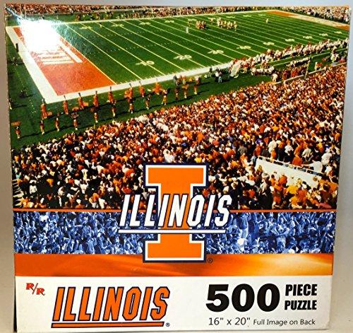 """NCAA University of Illinois Fighting Illini 16""""x20"""" 500 Piece Puzzle"""