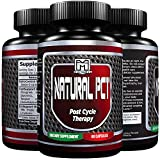 PCT Bodybuilding 100% Natural | Maintain Muscle Mass, Restore normal hormone levels, Support Testosterone levels (60 capsules)