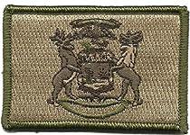 Tactical State Patch - Michigan (Multitan)