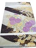 博多着物市場 きものしらゆり フォーマル 西陣織 じゅらく 帝王紫 高級 袋帯 正絹 仕立て上がり