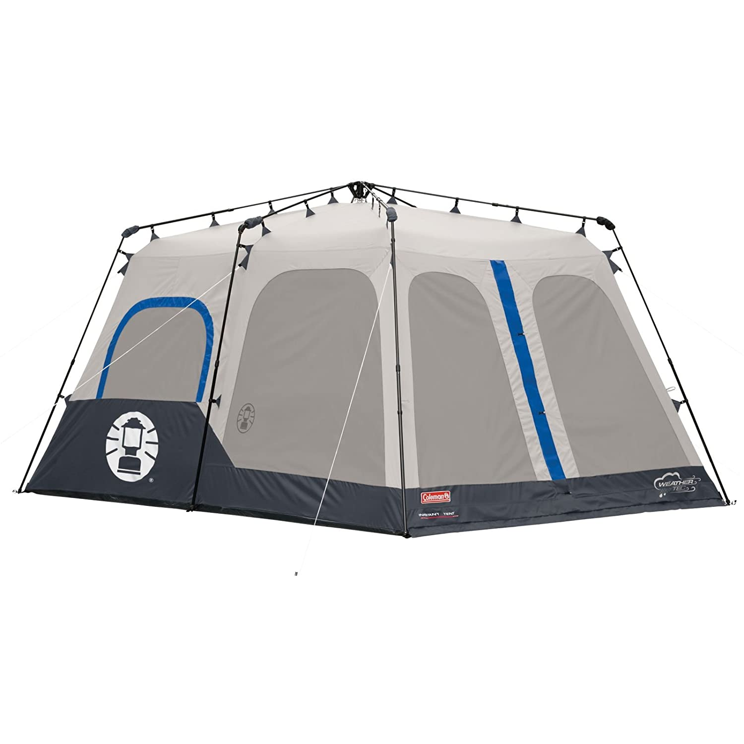 1. Best Family Tent U2013 Coleman 8 Person Instant Tent