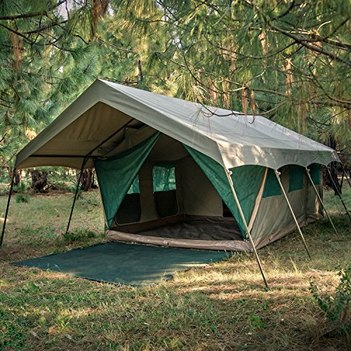 Bushtec adventure echo 2200 luxury camping tents luxury for Canvas tent plans
