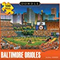 Jigsaw Puzzle - Baltimore Orioles 100 Pc By Dowdle Folk Art