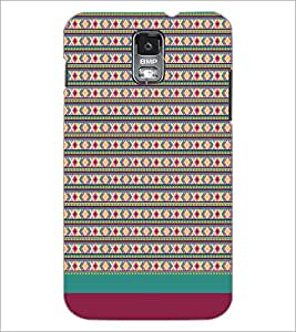 SAMSUNG GALAXY S5 MINI PATTERN Designer Back Cover Case By PRINTSWAG
