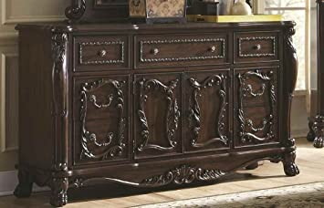 7-Drawer Dresser in Cherry Finish