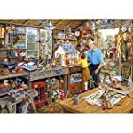 Grandad's Workshop Jigsaw Puzzle (100...