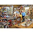 Grandad's Workshop Jigsaw Puzzle (1000-Piece)