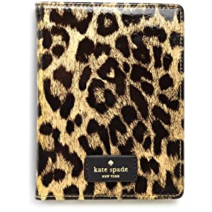 kate spade new york Patent Leather Kindle  Case Cover (does not fit Kindle Touch), Leopard