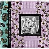 Pioneer Designer Raised Frame Cover Photo Album, Paisley