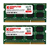 Komputerbay 8GB (2x 4GB) DDR3 SODIMM (204 pin) 1333Mhz PC3 10600 8 GB - CL 9 (nicht f�r Mac)