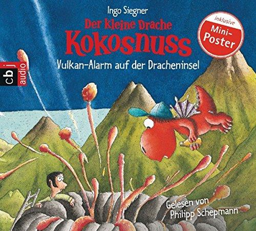 Der kleine Drache Kokosnuss - Vulkan-Alarm auf der Dracheninsel (Die Abenteuer des kleinen Drachen Kokosnuss, Band 24) das CD von Ingo Siegner - Preis vergleichen und online kaufen