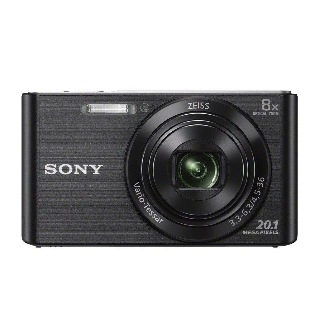 "Sony DSCW830/B 20.1MP Digital Camera with 2.7"" LCD (Certified Refurbished)"
