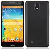 Android 4.2 Dual SIM Mtk6582 Quad Core Mp4 Wifi GPS Cell Phone N8000 GSM 3g Free Tether Wifi GPS At&t T-mobile No Contract Phone black