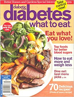 Diabetic Living Diabetes What To Eat 2nd Printing Better